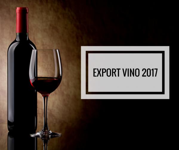 dati export vino del 2017